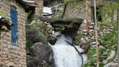 تصویر روستای زیبای دیوزناو در کردستان