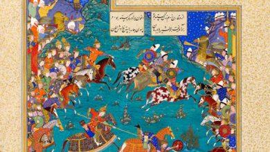 تصویر شاهنامه نماد فرهنگ ایرانی اسلامی
