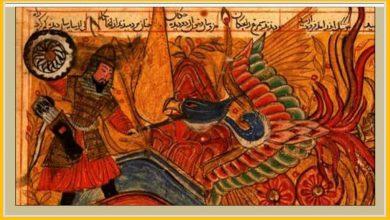 تصویر پیشینه طراحی پوشاک ایرانی برگرفته از دوران استورهای دانشنامه شاهنامه فردوسی